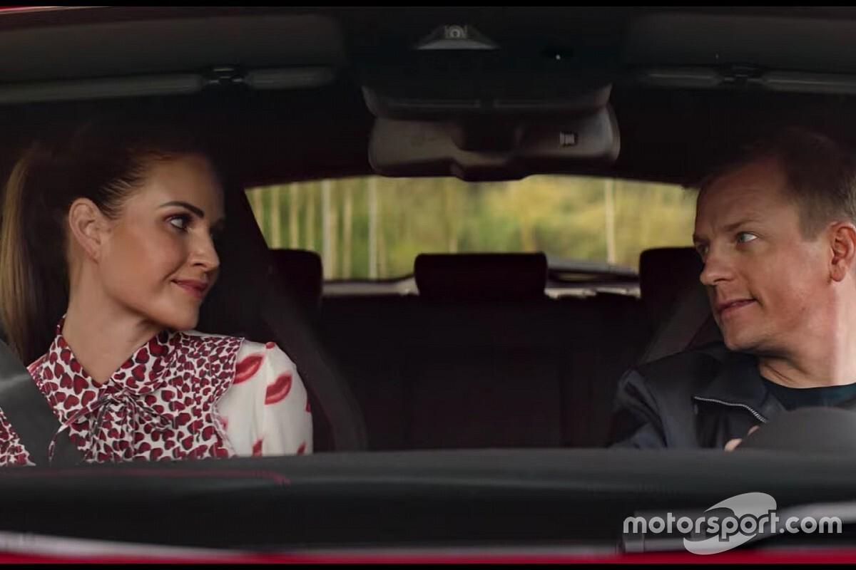 Räikkönen és Minttu az Alfa Romeo új reklámfilmjében: videó