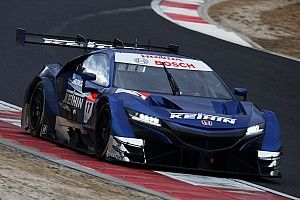 Honda tops opening day of Super GT testing at Okayama