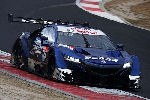 Honda tops opening day of Super GT testing at Okayama