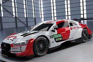Rast presenta la livrea dell'Audi con cui difenderà il titolo DTM