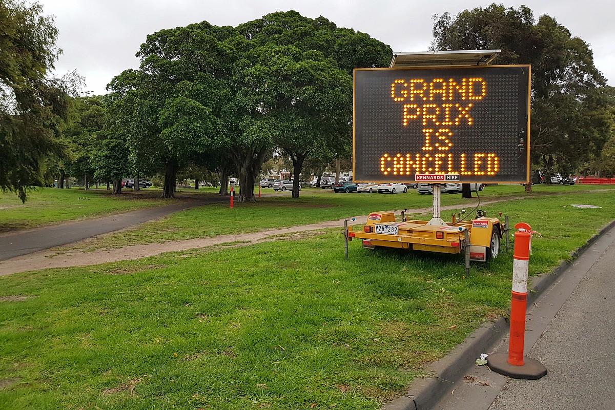 Мнение: Гран При Австралии отменили – и слава богу