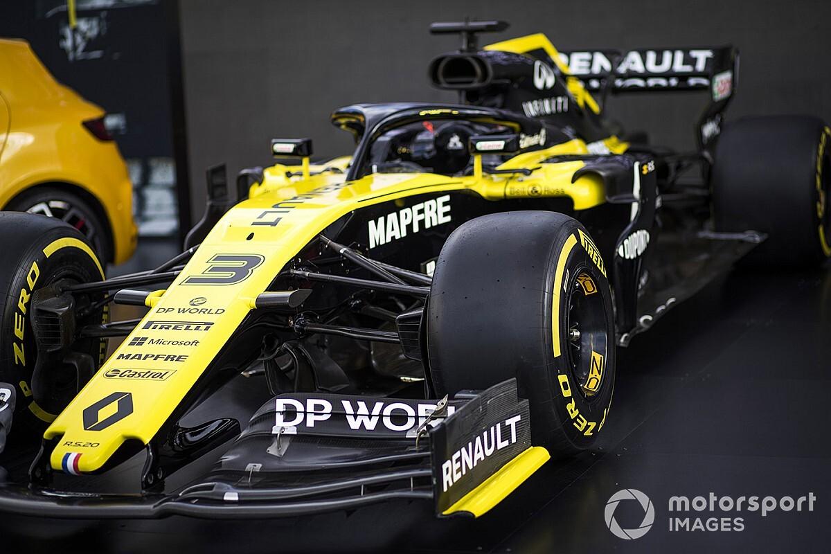"""Nieuwe hoofdsponsor Renault """"positief"""" voor toekomst in F1"""