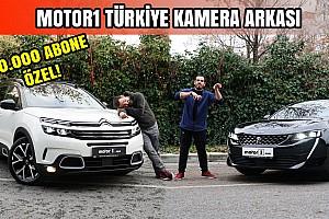 Motor1 Kamera Arkası | Eğlenceli Görüntüler | 150.000 Aboneye Özel!