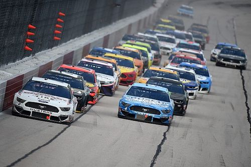 "Despite no fans, NASCAR's return still found a ""positive vibe"""