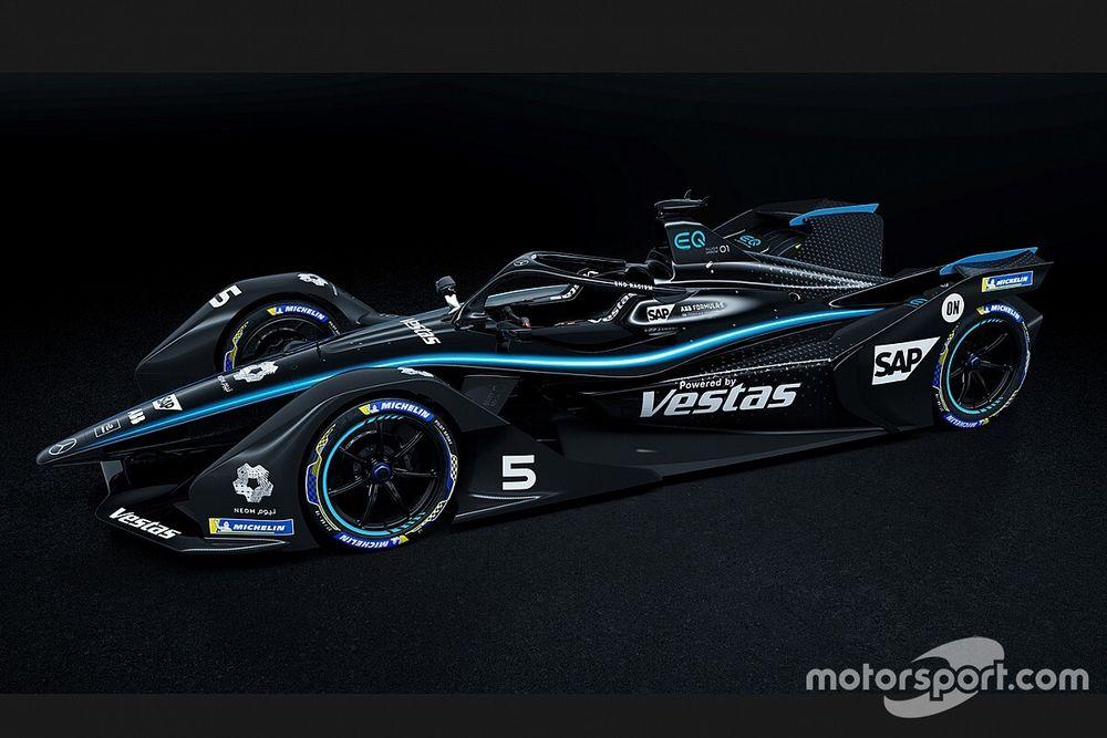 Mercedes: arriva la livrea nera anche in Formula E