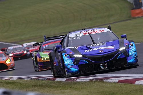 Honda NSX-GT struggling in dirty air, say Kunimitsu pair
