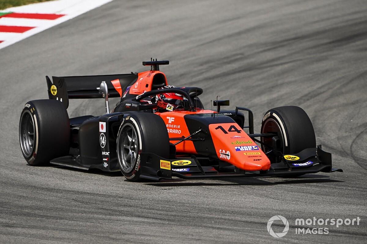 Matsushita schenkt MP sensationele zege in F2-hoofdrace Barcelona