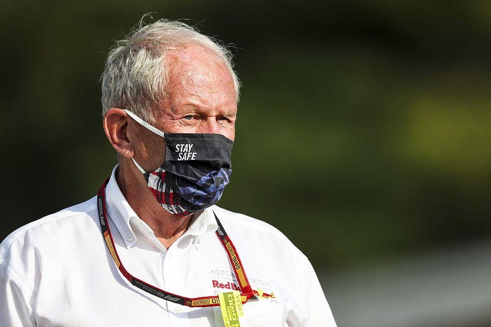 """F1: Marko diz que começo da corrida foi """"um grande desastre"""""""