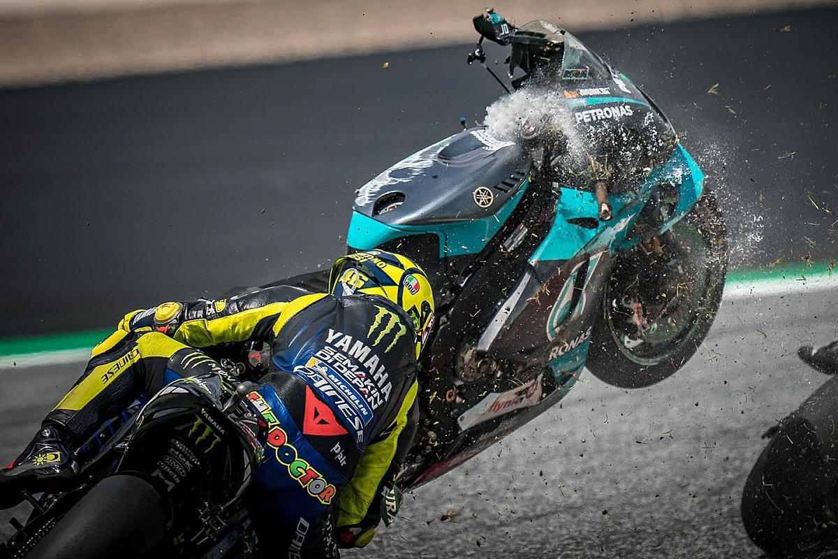"""Rossi: """"Zarco? In MotoGP non puoi permetterti errori così gravi"""""""