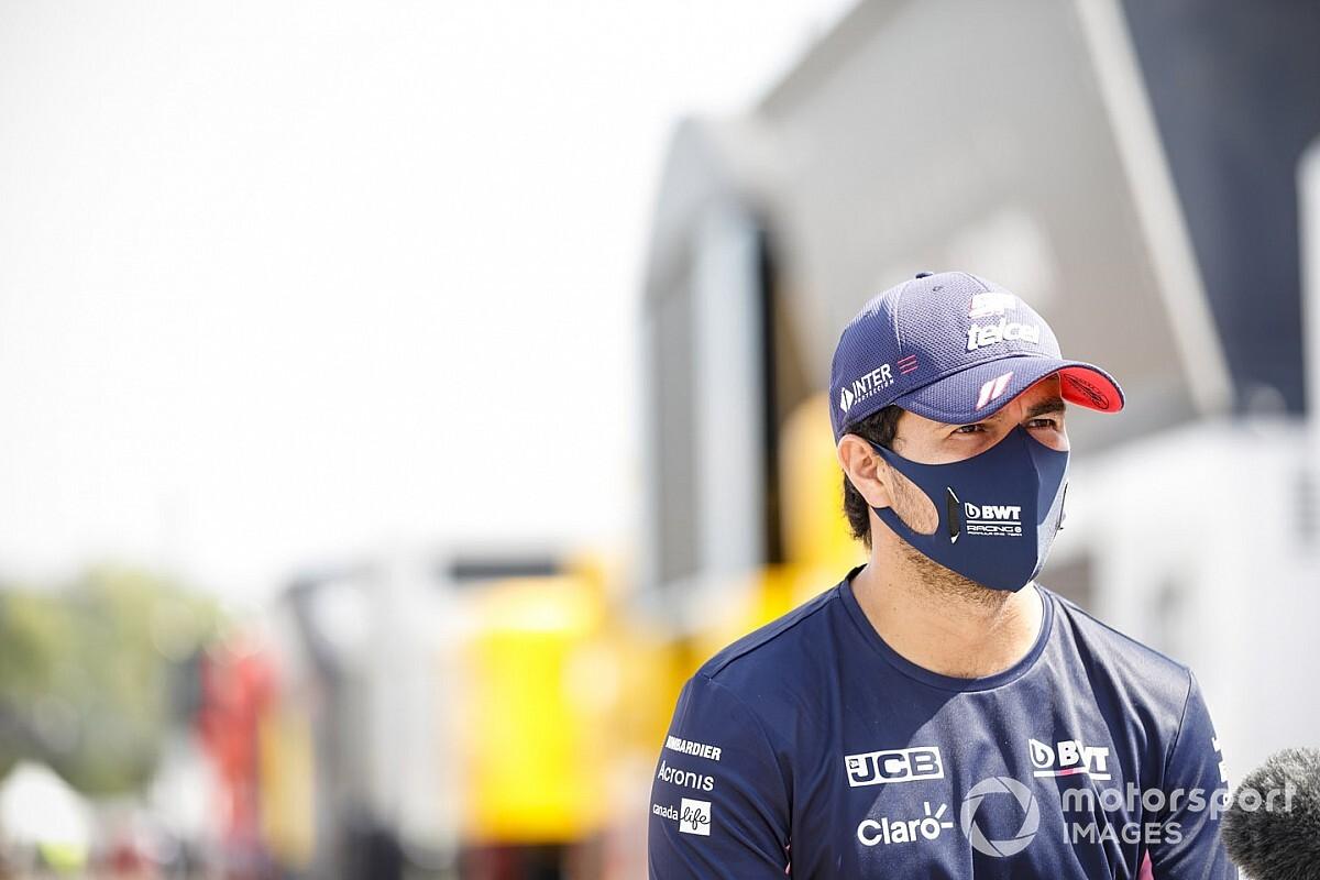 """Pérez detona imprensa por """"monte de m***"""" sobre viagem ao México e diz que rumores sobre Vettel devem """"desaparecer"""""""
