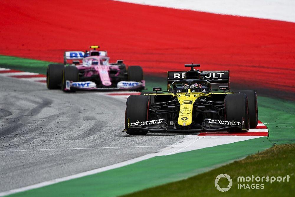 Renault pide a la FIA retirar su apelación contra Racing Point