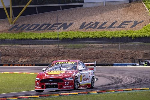 Darwin Supercars: McLaughlin on top in second practice