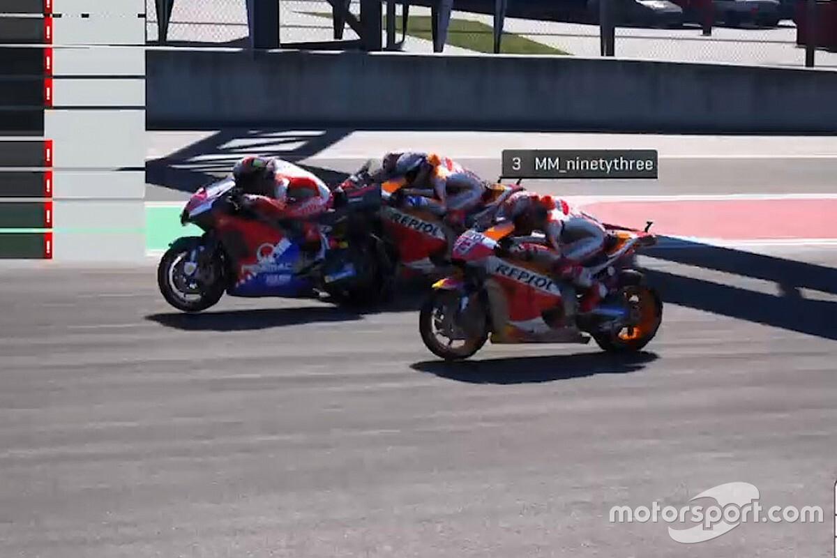 Rossi participera à la deuxième course virtuelle du MotoGP