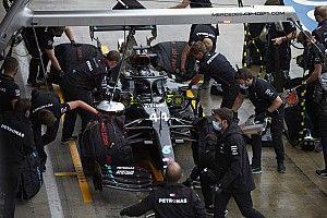 A Mercedes nem nyugodhat meg, jelenleg nem 100%-ig biztosak a problémamegoldásban