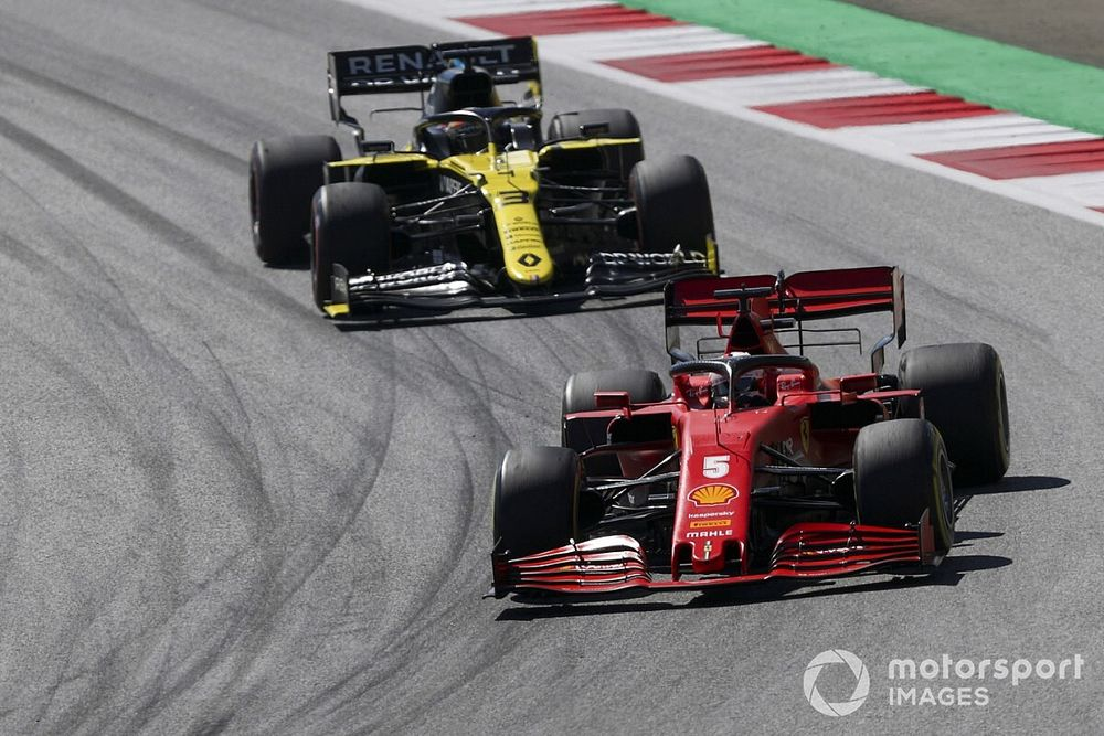 Ricciardo met en garde Vettel s'il rejoint le milieu de grille