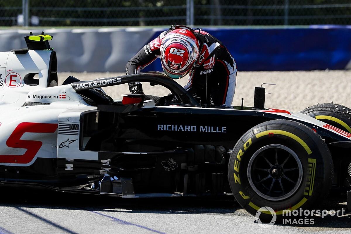 """A Haas nem számított a """"drámai"""" fékhibákra Ausztriában"""