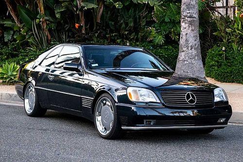 Un Mercedes-Benz de Michael Jordan puede ser tuyo