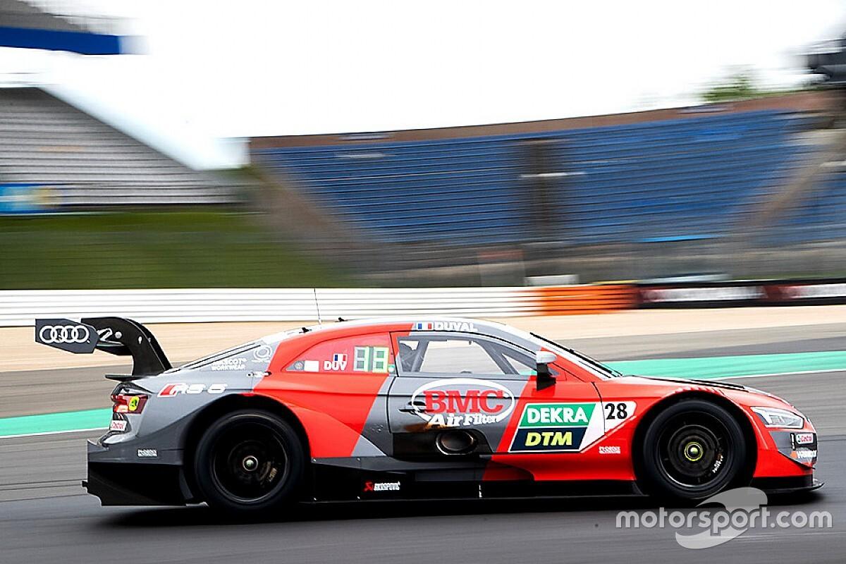 DTM, Test Nurburgring: Rockenfeller batte Eng al pomeriggio