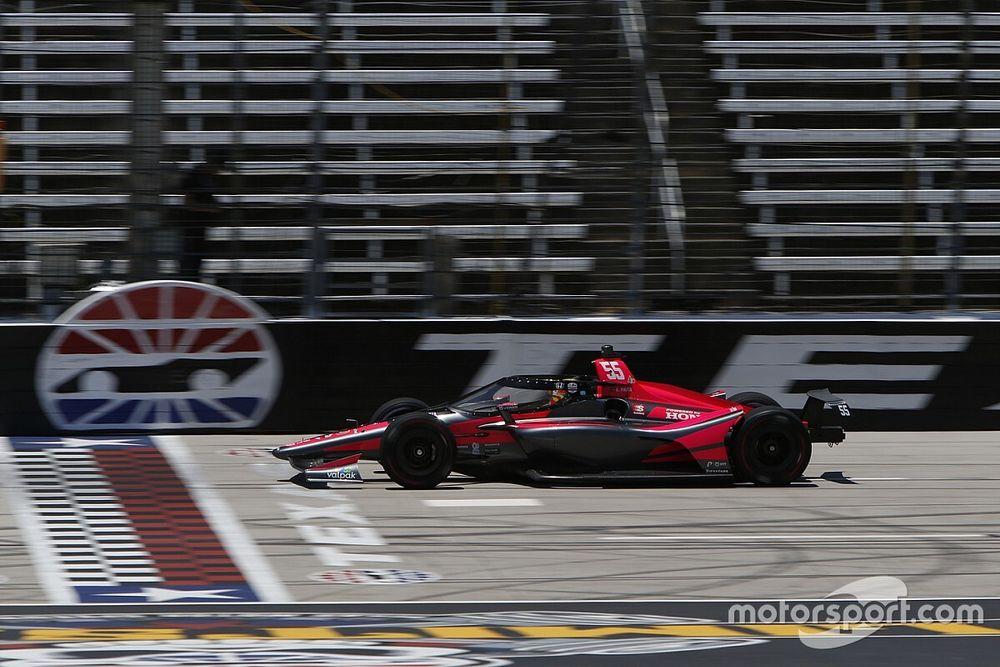 El buen debut de Palou en la IndyCar, dilapidado por otro rookie