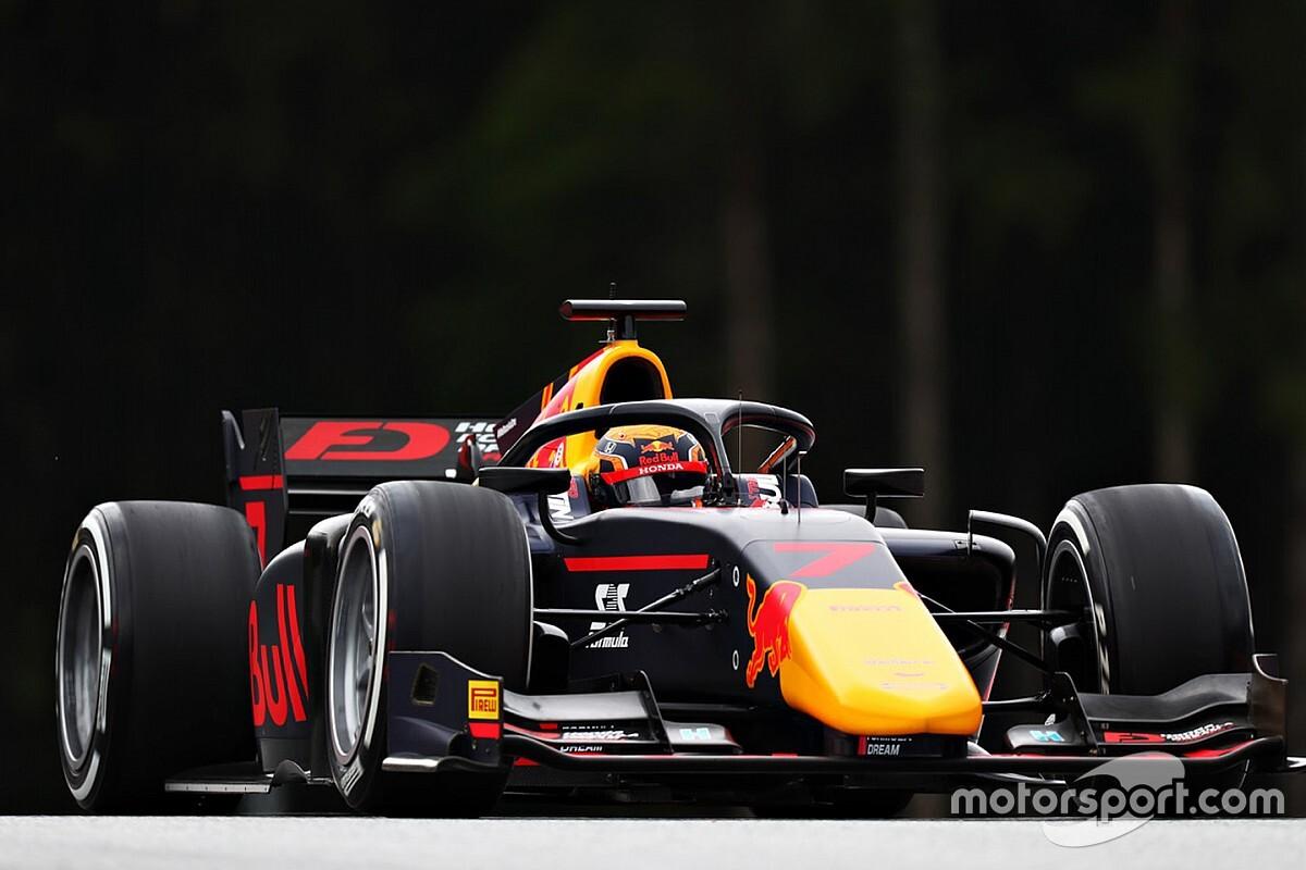 Powtórka Tsunody, wypadek Schumachera