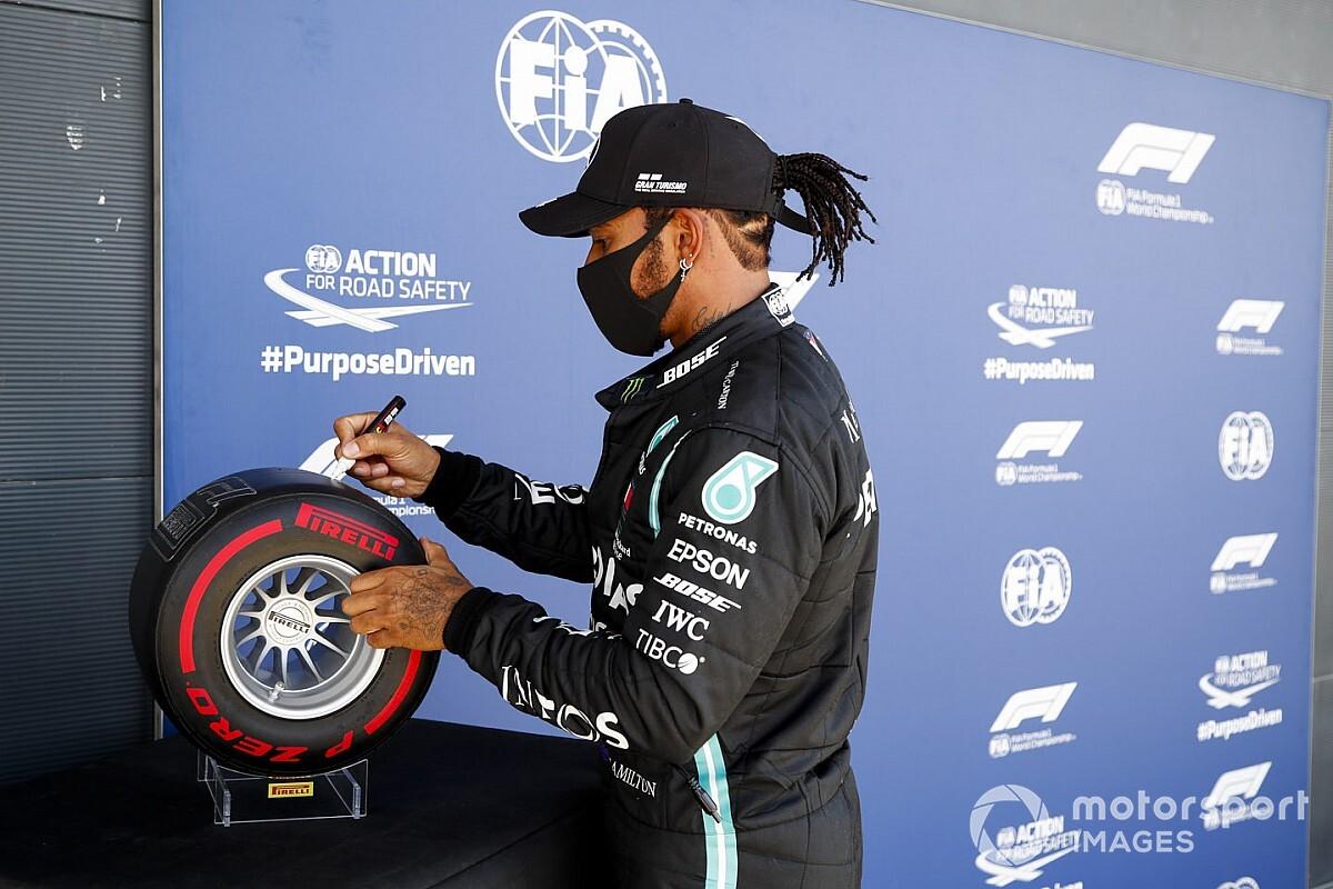 VÍDEO: Veja a volta da pole e do recorde de Hamilton na F1 em Silverstone
