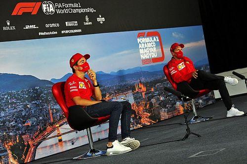 Kierowcy Ferrari zapomnieli o kraksie