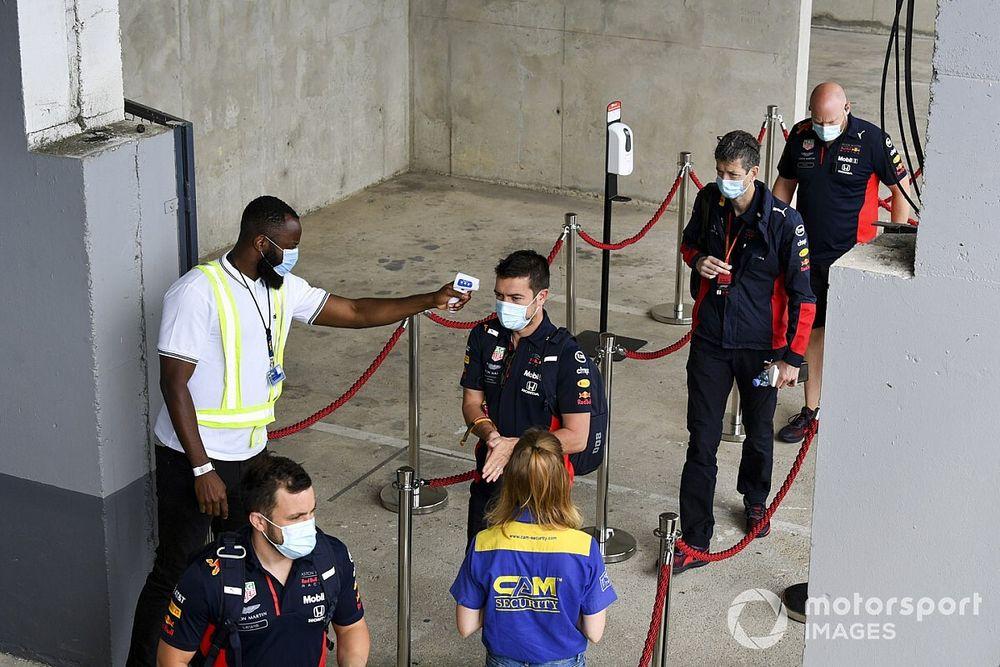 La F1 registra un positivo en COVID-19 en la última semana