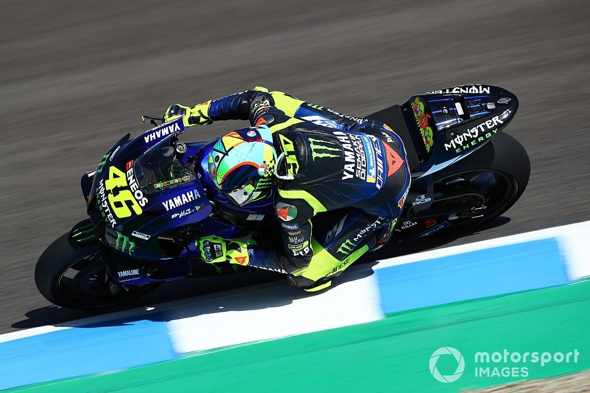 """Rossi: """"Fue un día difícil, no voy rápido"""""""