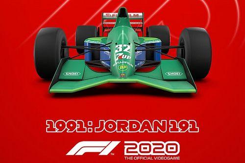 La Jordan de Schumacher ajoutée à F1 2020 pour sa popularité