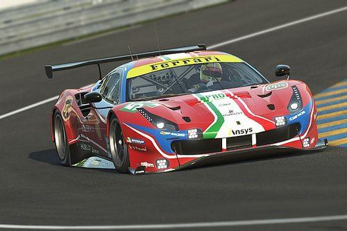 Leclerc és Giovinazzi a Ferrarival indul a virtuális Le Mans-i 24 órás versenyen!