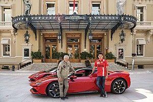 لوكلير يُكمل تصوير الفيلم القصير في موناكو