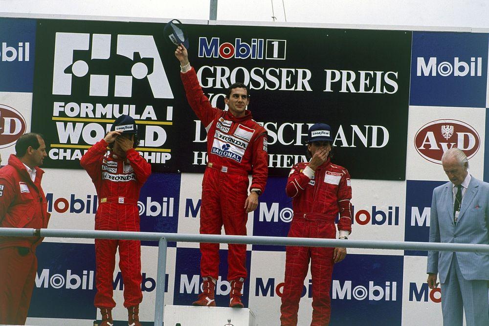 Berger: Senna odament a futam előtt a versenytársaihoz, hogy...