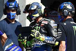 "Rossi: ""Saliendo décimo necesitaré tener suerte para llegar al podio"""
