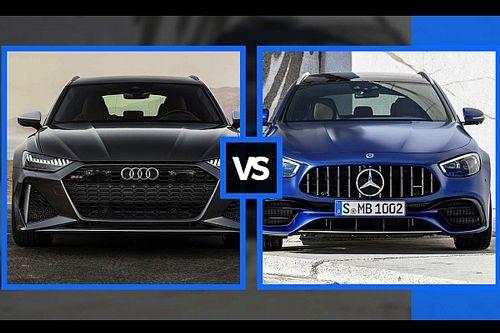 Audi RS6 Avant vs Mercedes-AMG E 63S SW, sfida tra super familiari, sfida tra super familiari