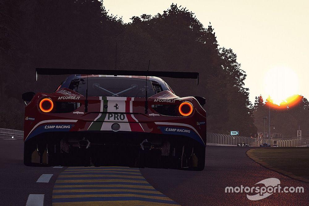Virtual Le Mans, 9a Ora: Ferrari vede sfumare il podio di Bonito