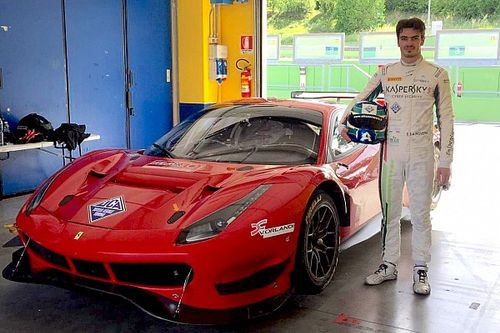 GT Italiano: prima uscita in Ferrari per Rovera a Vallelunga