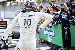 Tel Schumacher chez Benetton, Gasly a fait d'AlphaTauri son équipe