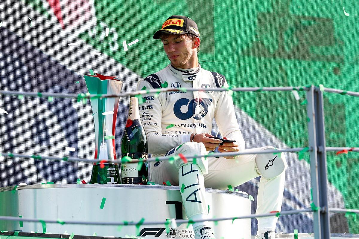 Gasly in testa al Motorsport.com Italian Trophy (Ghini)