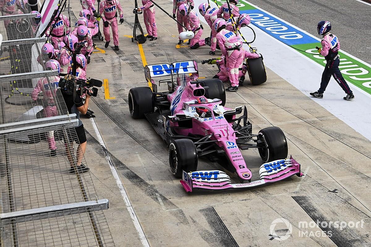 Racing Point défend sa stratégie malgré le podium envolé