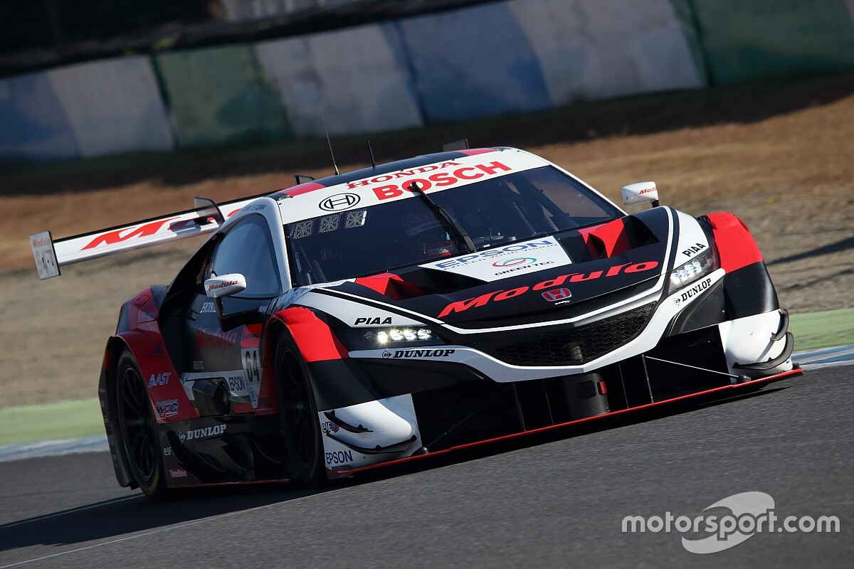 Motegi Super GT: Honda locks out top three in qualifying