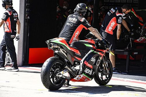 Aprilia Debut Mesin Baru RS-GP di Jerez