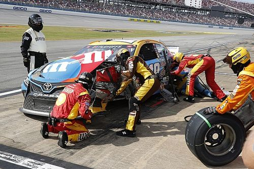 """Kyle Busch's plan to remain in the playoffs: """"Race it out"""""""