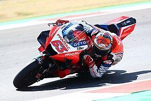 """Bagnaia: """"No sé si este podio vale un puesto en el equipo Ducati"""""""