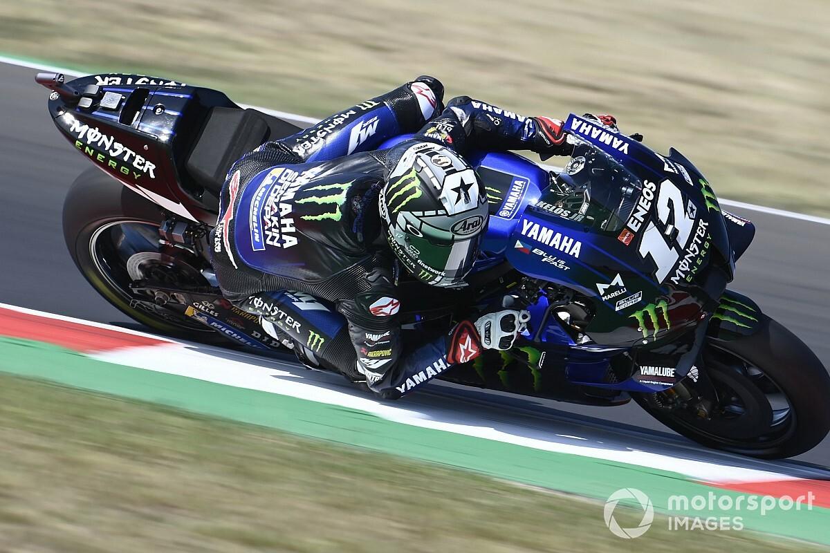 Test MotoGP Misano: Vinales al top, Dovizioso migliora