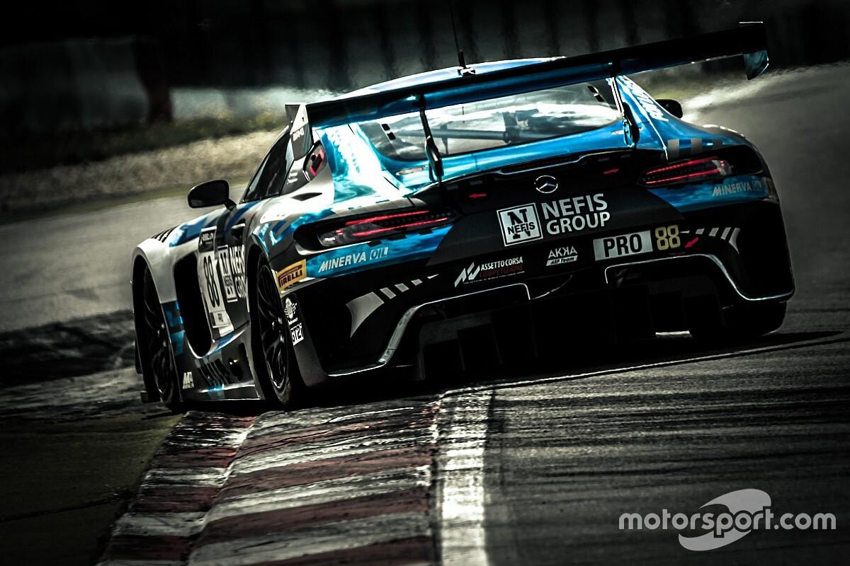 24h di Spa: Mercedes in Super Pole con un grande Marciello