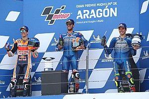 MotoGP Aragon: Rins beschert Suzuki ersten Saisonsieg vor Marquez und Mir