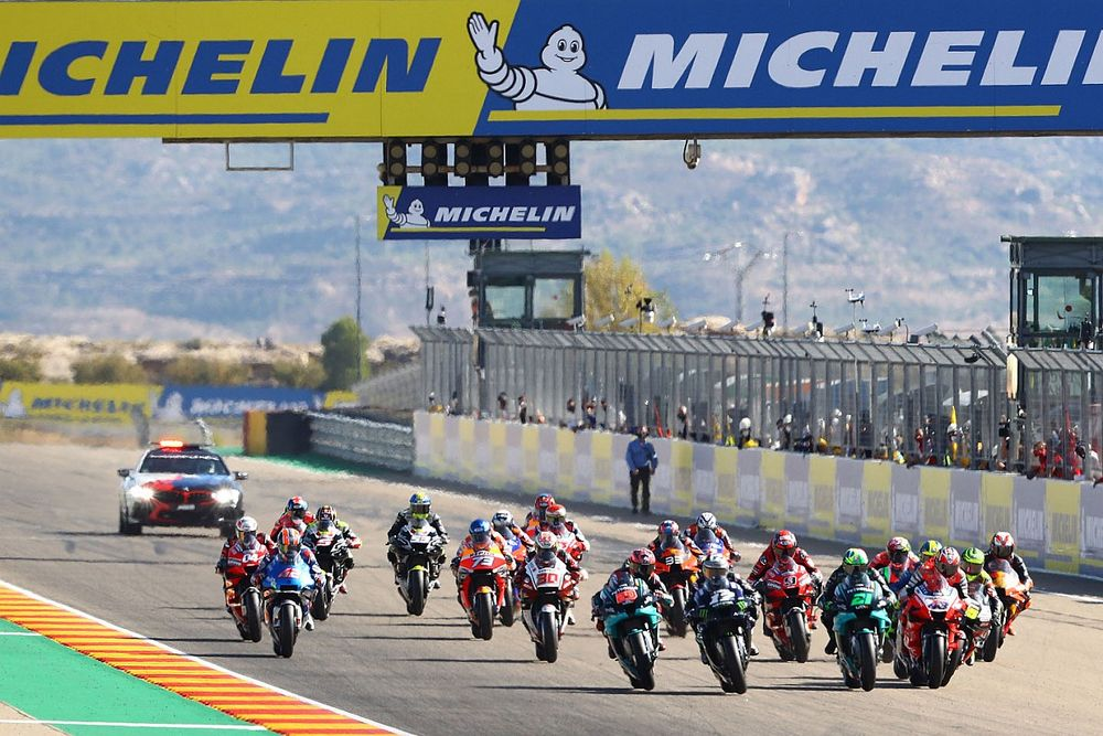 Horarios del GP Aragón 2021 de MotoGP: dónde verlo (gratis y pagando)