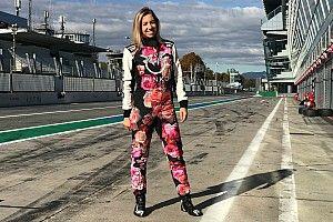 Francesca Linossi a Monza per l'ultimo round del GT Endurance