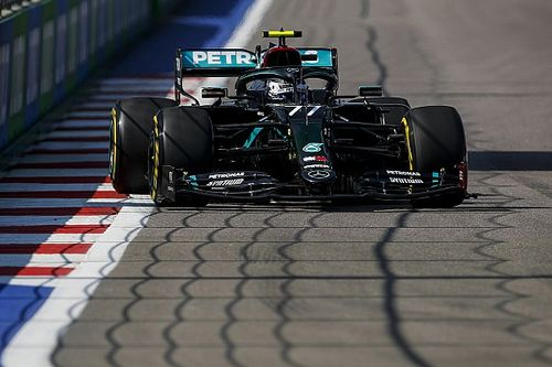 Bottas bovenaan in eerste training GP Rusland, Verstappen derde