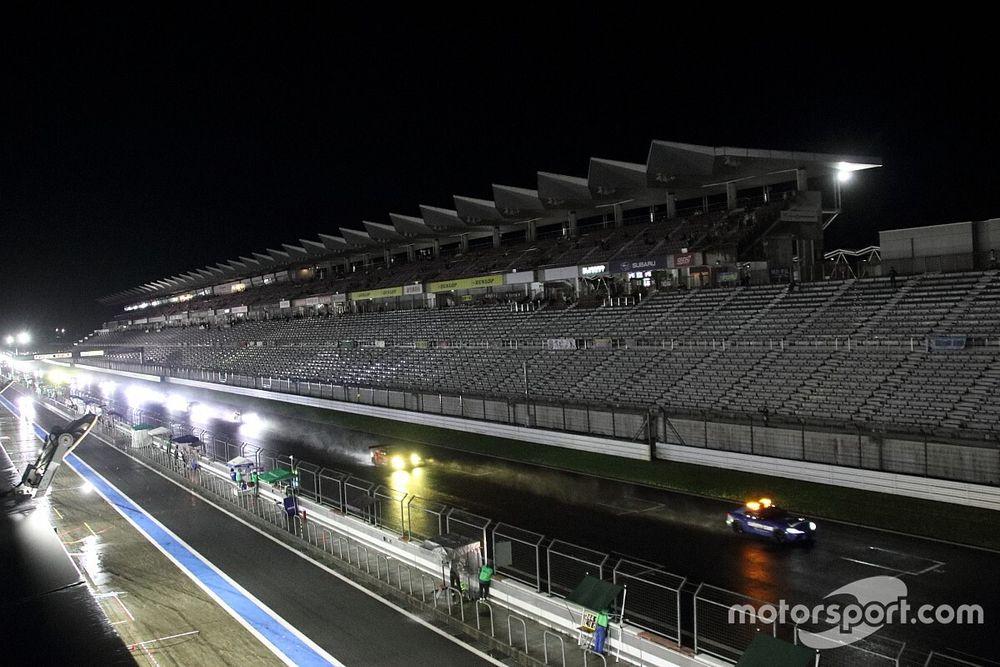 富士24時間レース 4時間30分の中断を経てレース再開するも、悪天候が続く